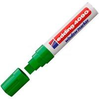 Маркер Edding E-4090, смываемый, зеленый
